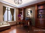 家装设计 欧式 书房图片