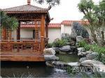中式别墅花园