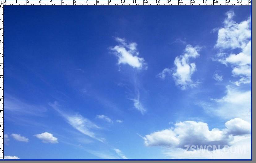 ps手绘天空背景素材