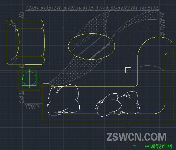 最新cad模块 cad沙发素材下载dwg - cad沙发平面图