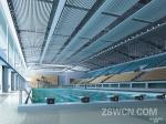 合肥体育中心 游泳池 休息区装修效果图