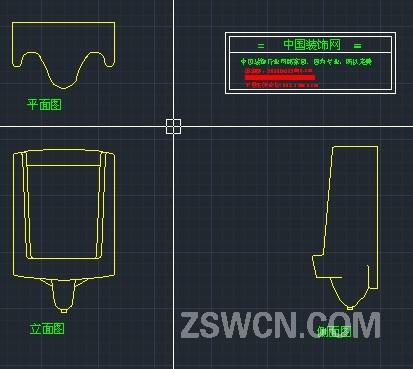 小便池cad  平面图+立面图+侧面图 男士小便池 小便池尺寸