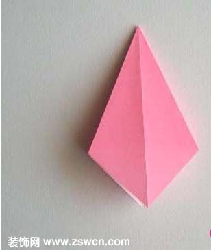 变废为宝手工小制作——手工工艺制作折纸百合