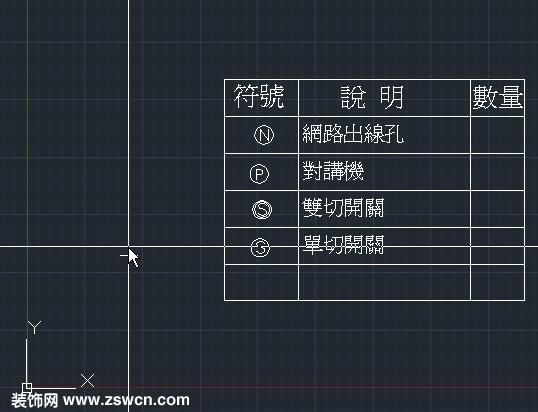 cad图块 网络出线孔 对讲机 双切开关 单切开关 cad表示画法 dwg格式