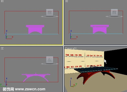 奥运会乒乓球桌max模型 标准乒乓球台3d模型下载