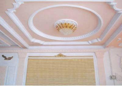 石膏板吊顶施工工艺; 家装石膏板吊顶造型; 木质挂板施工节点图分享; 图片