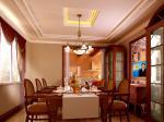 欧式别墅清新现代装修风格 餐厅 客厅装修效果图欣赏