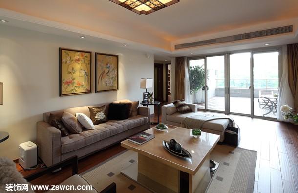 珠海格力广场 现代风格客厅装修图片欣赏