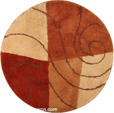现代圆形地毯贴图