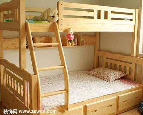 高低床图片 儿童高低床