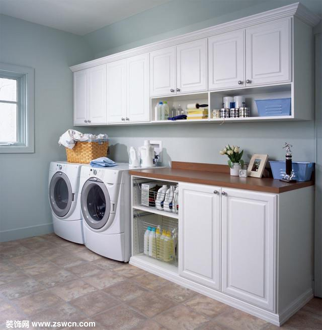 洗衣房设计 洗衣房装修效果图高清图片