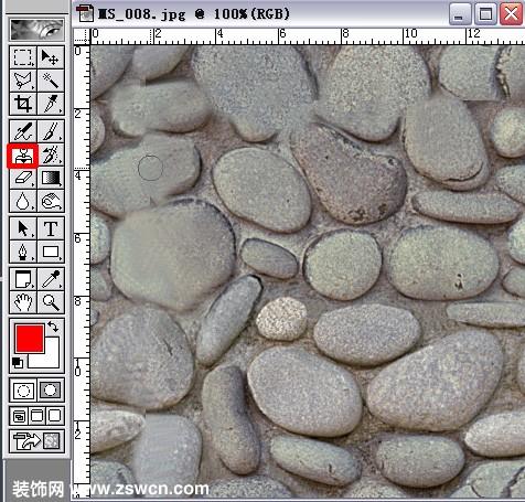 室内效果图贴图素材ps实用教程 无缝贴图不求人