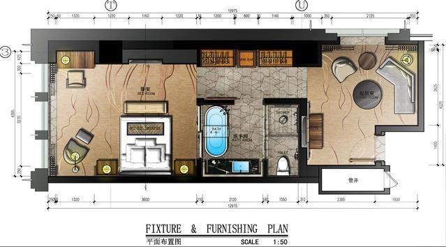彩色总平面图PS小教程 HBA别墅设计总平面方案 效果图后期ps教程1