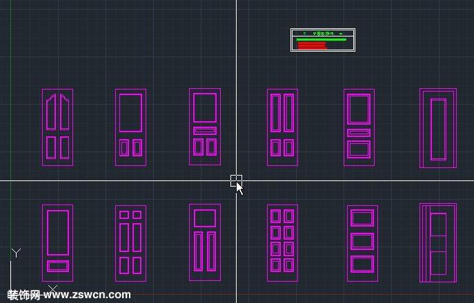 造型门页cad图案 拼花设计方案cad素材下载