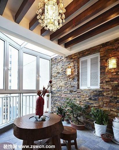"""艺隆装饰会让你家的阳台够""""阳气"""""""