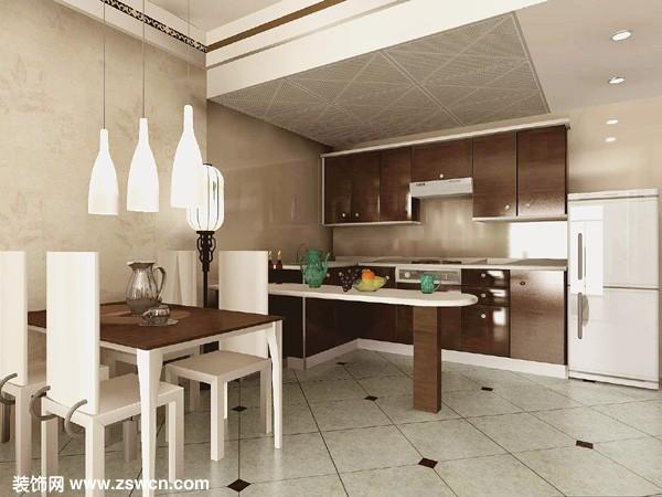 开放式厨房怎样装修好