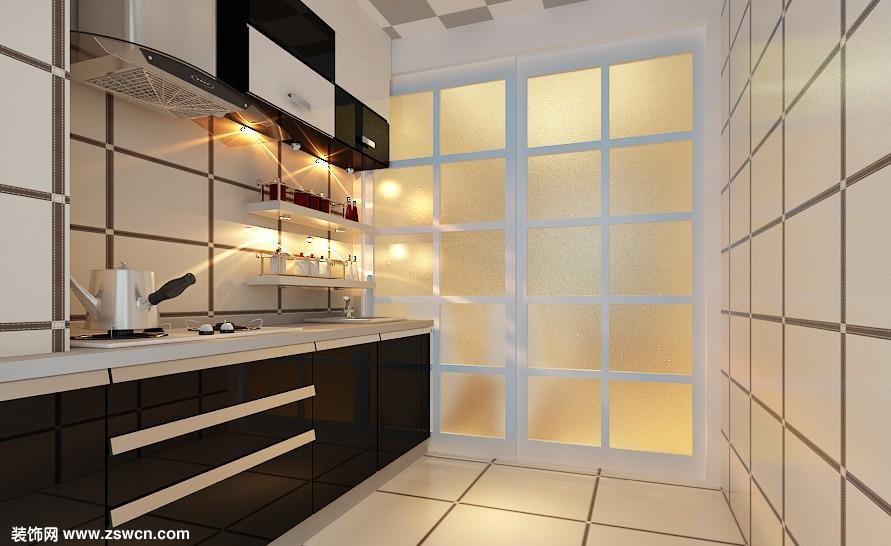 厨房色彩如何搭配