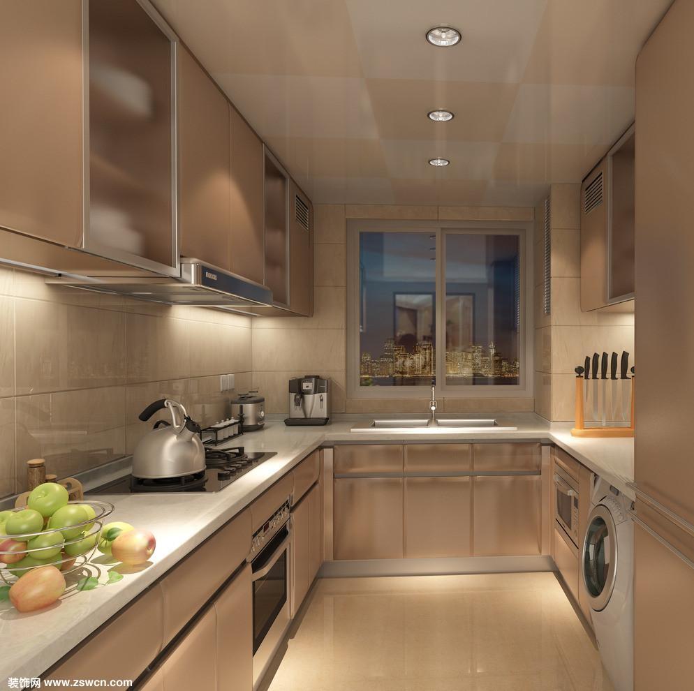 广告公司装饰效果图_厨房装修注意什么?看看现代风格厨房效果图 - 厨房装修设计 ...