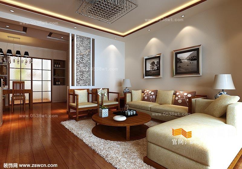 泰山学院南校区教师公寓现代简约风格装修效果图