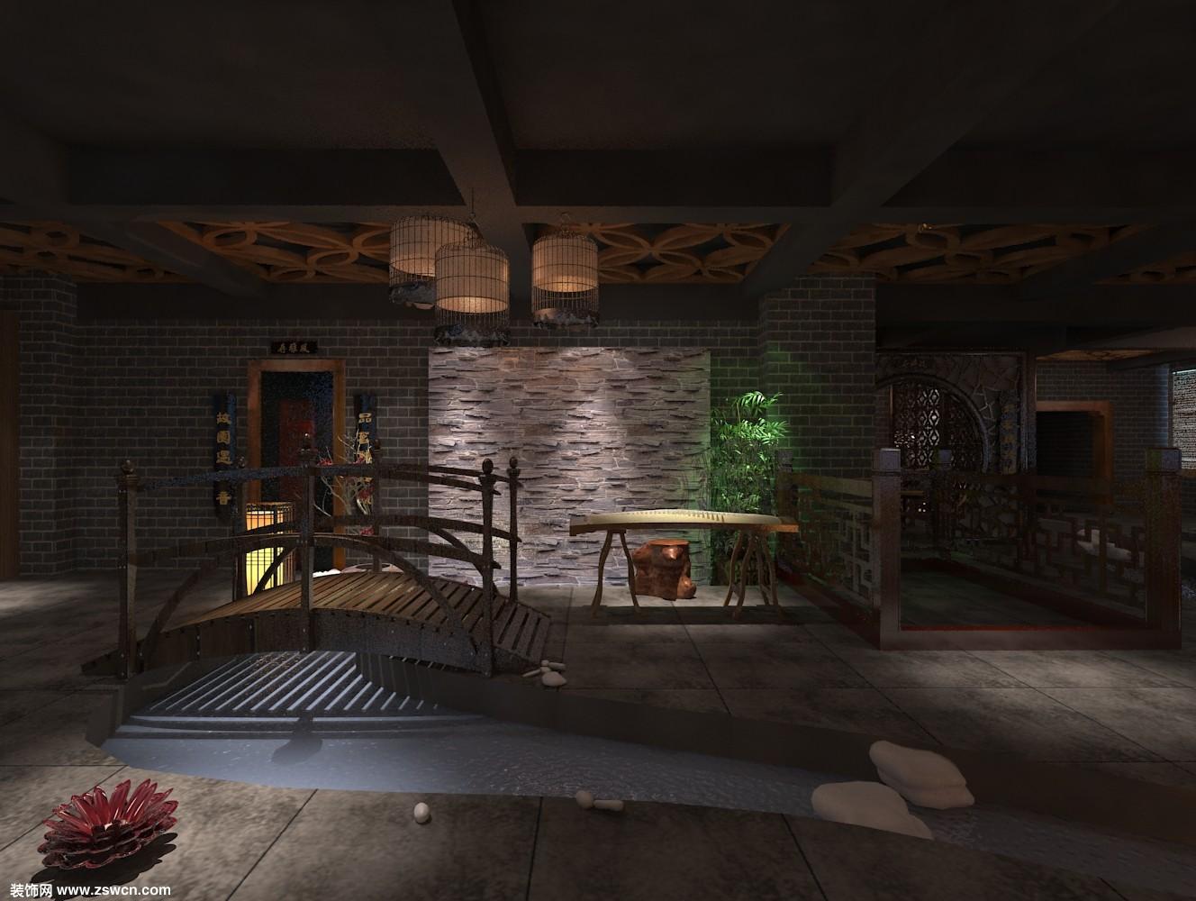 古典茶楼设计