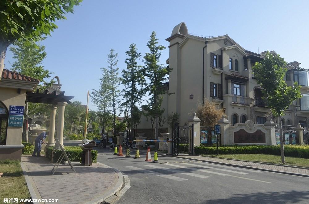 清华阳光精品工程之山东寿光左岸绿洲中式古典别墅区:优雅与高贵,引领太阳能高端市场