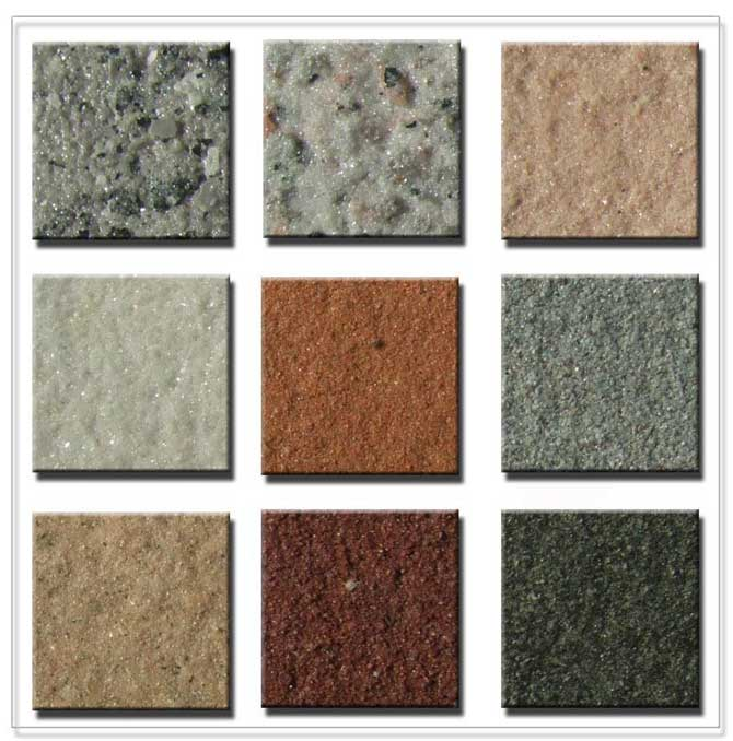 外墙真石漆报价表  真石漆每平方价格