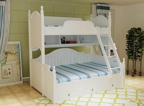 """后就是就是这套上下床设计,同样这也是""""维纳斯""""韩式风格中最具亮"""