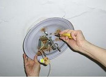 吸顶灯怎么安装