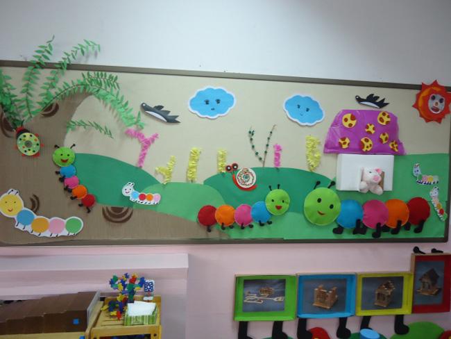 幼儿园主题墙饰设计
