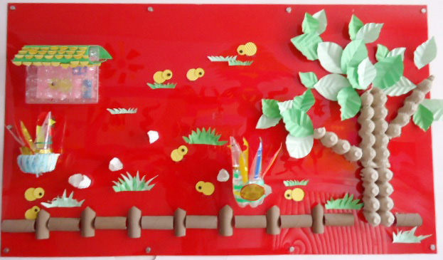 幼儿园墙面布置 幼儿园主题墙饰设计
