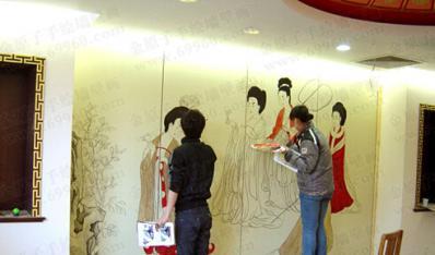 手绘墙教程需要准备那些步骤