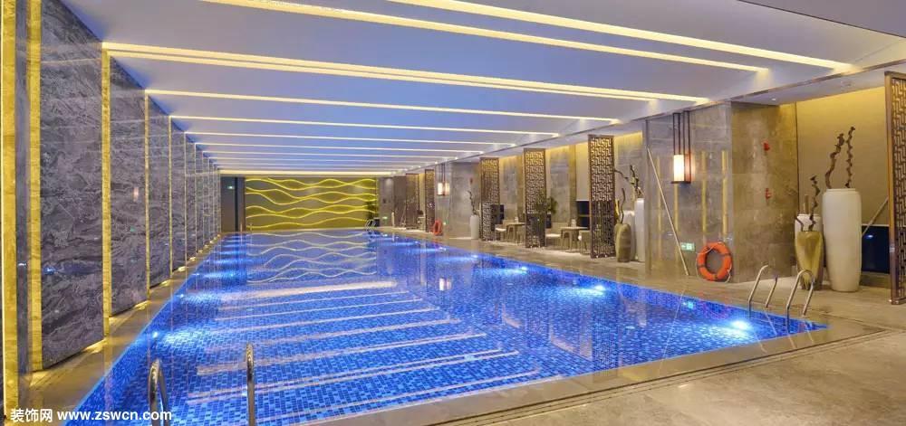 泰安万达嘉华酒店 游泳池,美容美发室,健身房效果图