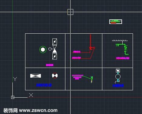 末端试水装置示意图 双栓室内消火栓 水流指示器 图块cad消防图例