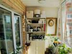 4款设计实用小阳台装修效果图 小户型也能装出大空间 仅供参考
