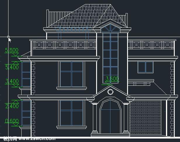 农村别墅建筑图纸2