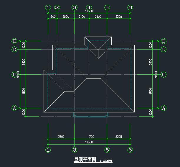 农村自建房设计图 三层最新房子设计图 cad施工图下载7