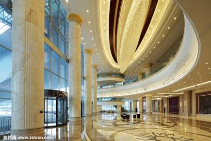 武汉国际会议中心装修效果图 设计效果图