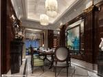 恒大集团10000元每平方标准精装样板房设计案例 餐厅装修效果图