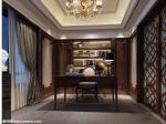 恒大集团10000元每平方标准精装样板房设计案例 书房装修效果图