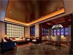 园博会—晓月书院 接待区 包间 客房 休息区 起居室 装饰设计效果图