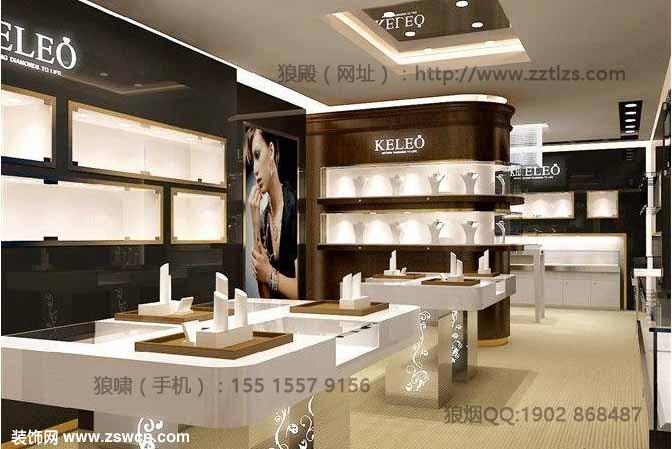 郑州珠宝店装修设计整体色调的把控