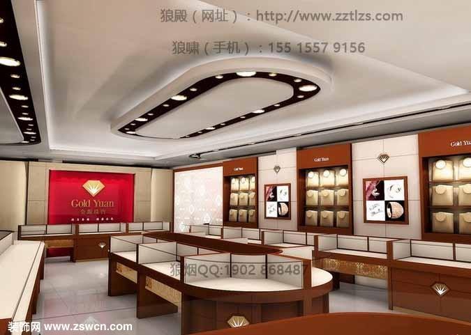 郑州珠宝店装修设计