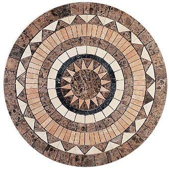 圆形大理石材质 拼花贴图 3d贴图素材下载