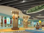 天霸设计作品|供寻求四川商场装修设计的客户参考