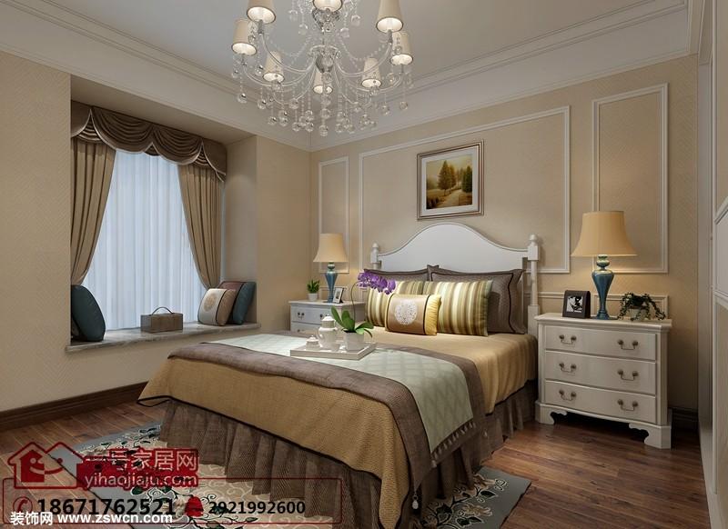 宜昌装修:山水华庭|四室两厅|简欧风格|客厅效果图