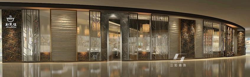 环保餐厅装修设计只需三步