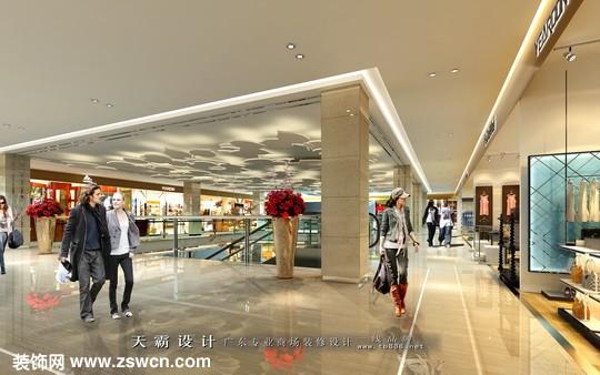 商场设计效果图,商场装修效果图,商场设计效果图
