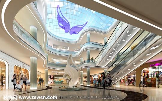 商场装修设计效果图,商场装修效果图,商场设计效果图
