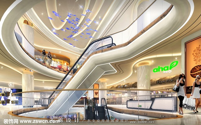 内蒙古城市综合体设计可参考广东天霸设计项目设计效果图:中山协成广场