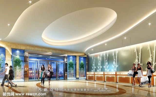 内蒙古城市综合体设计可参考广东天霸设计项目设计效果图:湖南怀化汇丰家乐广场